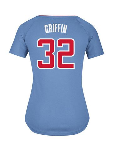 59ad702d21fe Los Angeles Clippers Women s Blake Griffin Back In Blue Replica Jersey