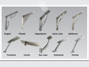 Stainless Steel Countertop Brackets