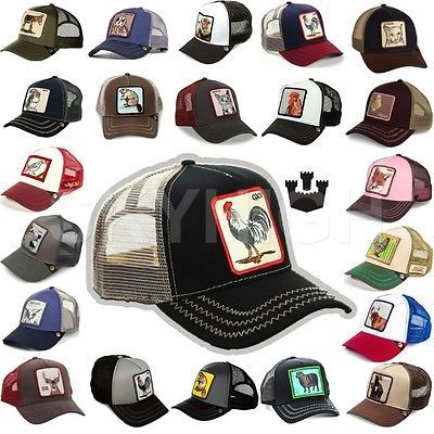 eabfebbd7bc Hats 45230  Goorin Bros Trucker Cap Snapback Mash Hat Animal Farm Rooster  Pecker Sheep -  BUY IT NOW ONLY   30.15 on eBay!
