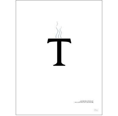 """""""En man kom in på en restaurang och sa bara en enda bokstav. Vad beställde han?"""" Svar: T"""