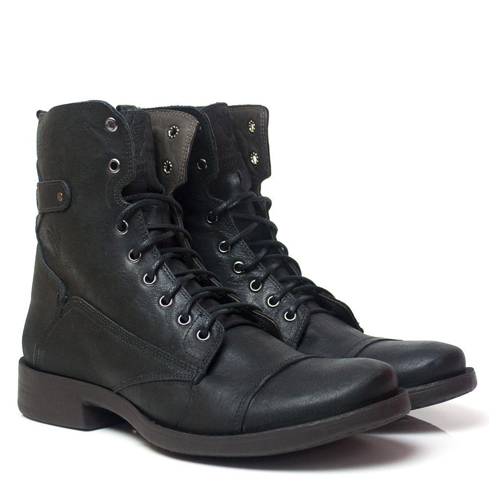 Bota Black Boots Bm 102 Preta - Compre Online - BlackBoots