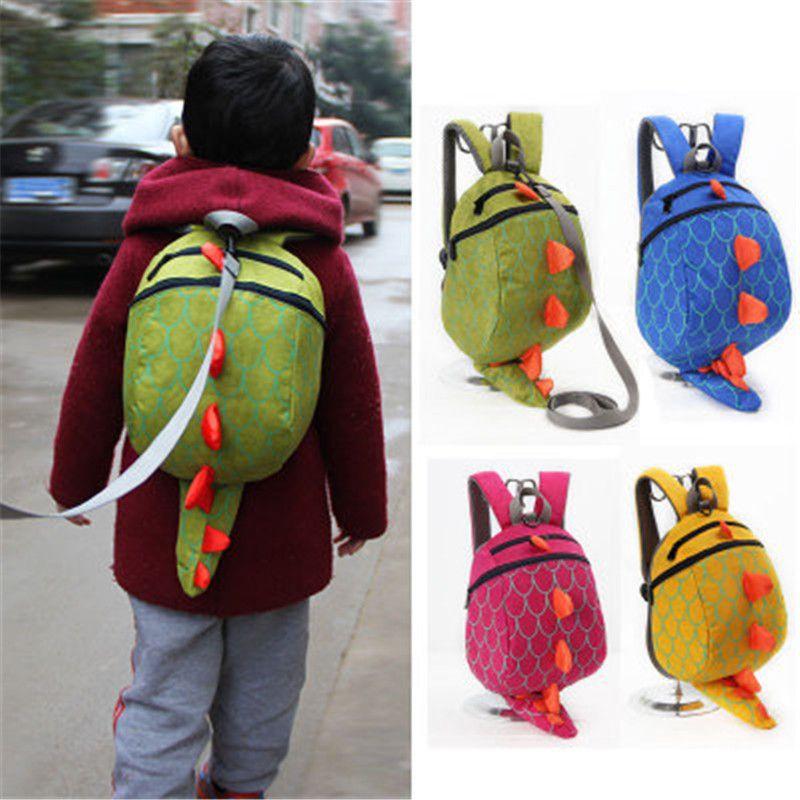 Bag · New Cute Kids School Bag Cartoon 3D Dinosaur Kindergarten Baby ... b145bda7f2