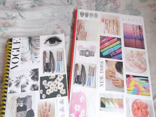 tumblr journal diy pinterest cahier scolaire et fourniture scolaire. Black Bedroom Furniture Sets. Home Design Ideas