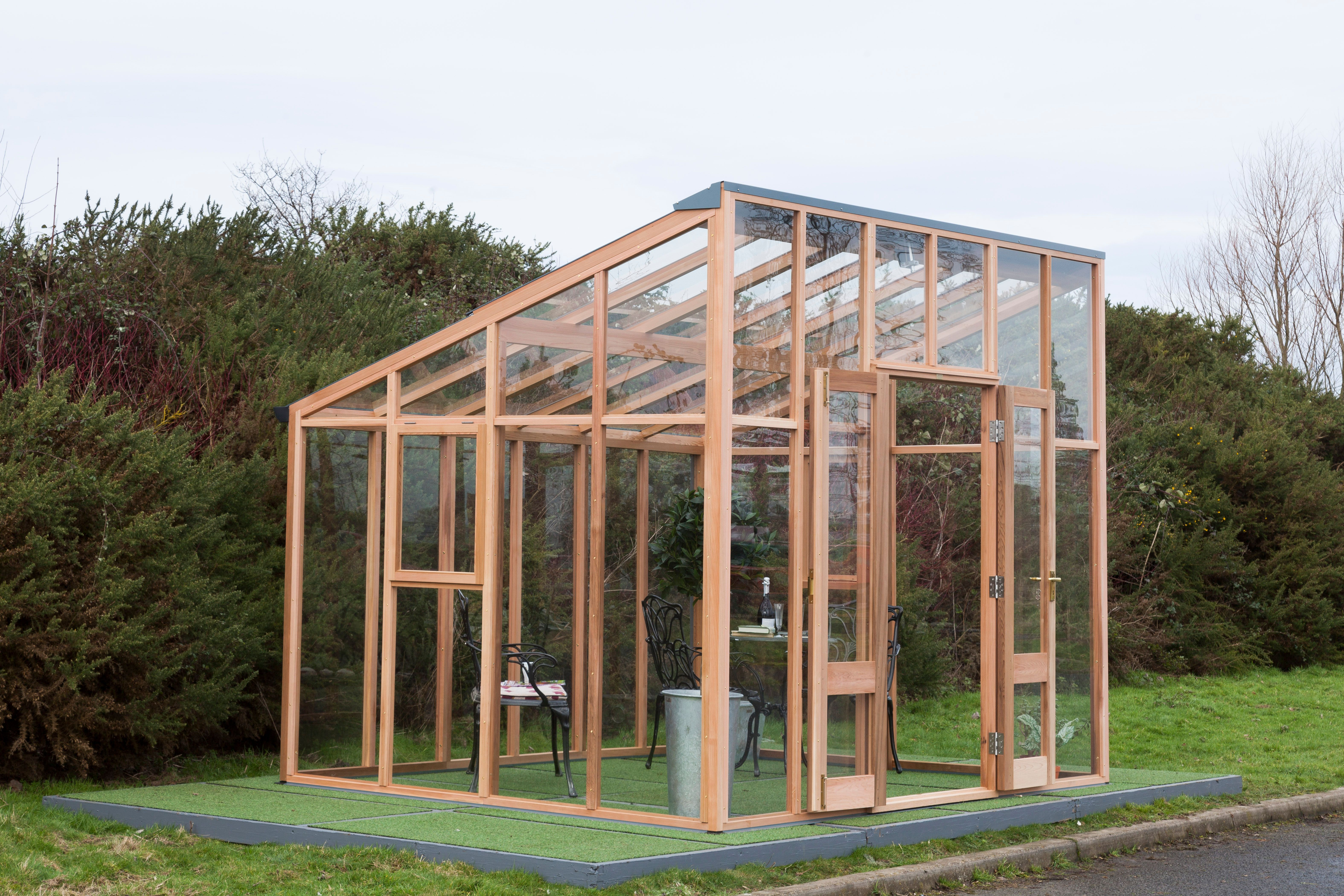 The Classic Vision Is Designed Based On A Free Standing Lean To With Double Opening Doors And A Sharp Roof Pitch To Lean To Greenhouse Carport Designs Lean To