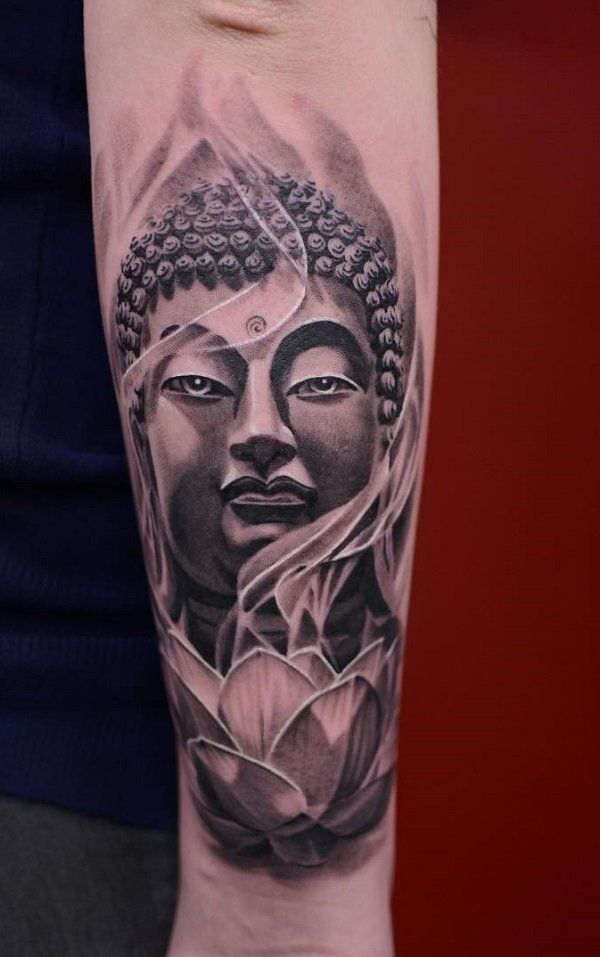 60 inspirational buddha tattoo ideas buddha tattoos. Black Bedroom Furniture Sets. Home Design Ideas