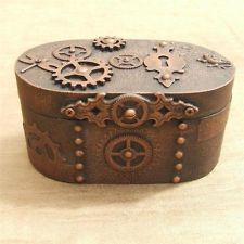 STEAMPUNK TRINKET JEWELLERY BOX Music Jewelry Boxes Pinterest