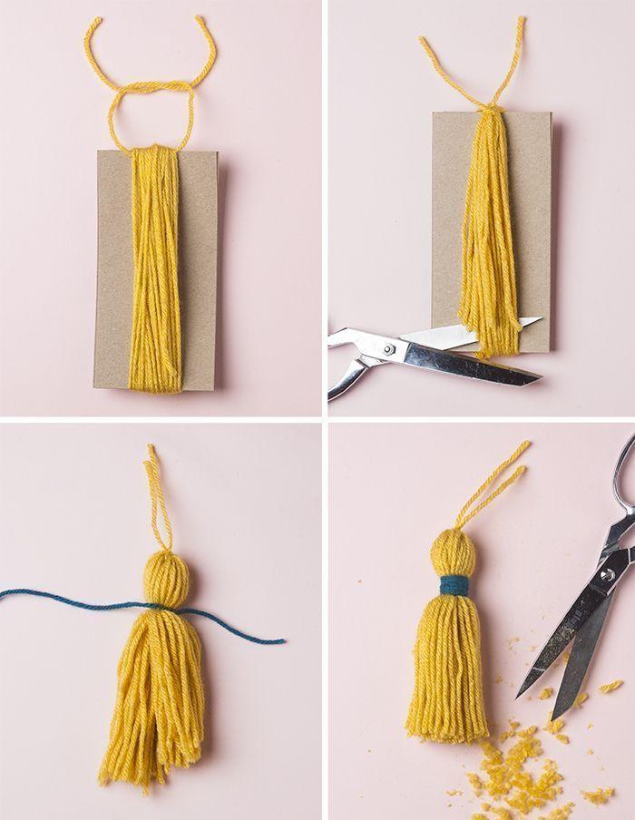 Photo of Summer Pom Pom Door Swag von Jessica Marquez für Design Sponge – Diy And Crafts