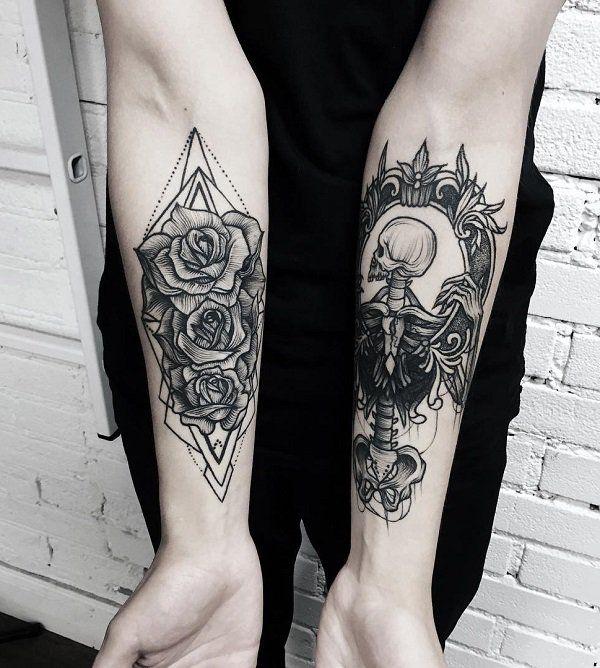 110+ Awesome Forearm Tattoos   Forearm tattoos, Tattoo and Tattoo art