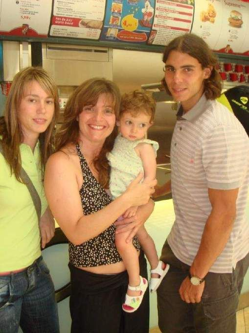 Rafael Nadal Forever Friends Brother Sister Rafael Nadal Friends Forever Rafa Nadal