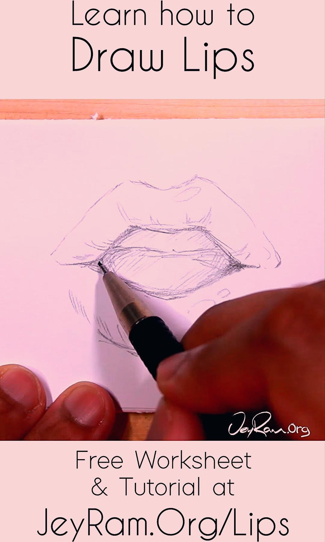 Anime Manga Tutorial In 2020 Lips Drawing Manga Tutorial Lips
