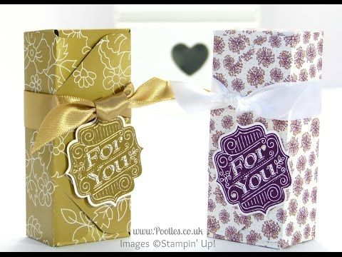 6×6 Envelope Punch Board Box Tutorial