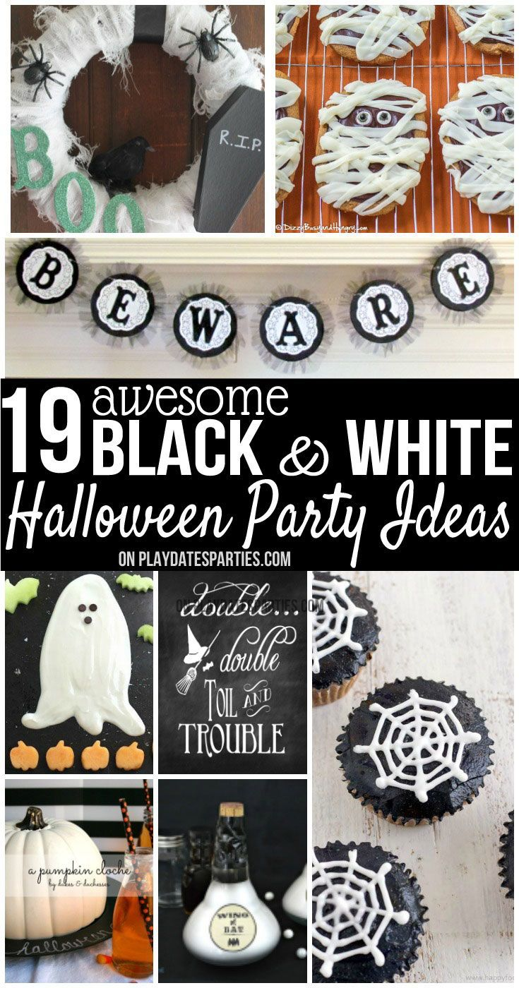 awesome black and white halloween decorations u ideas halloween
