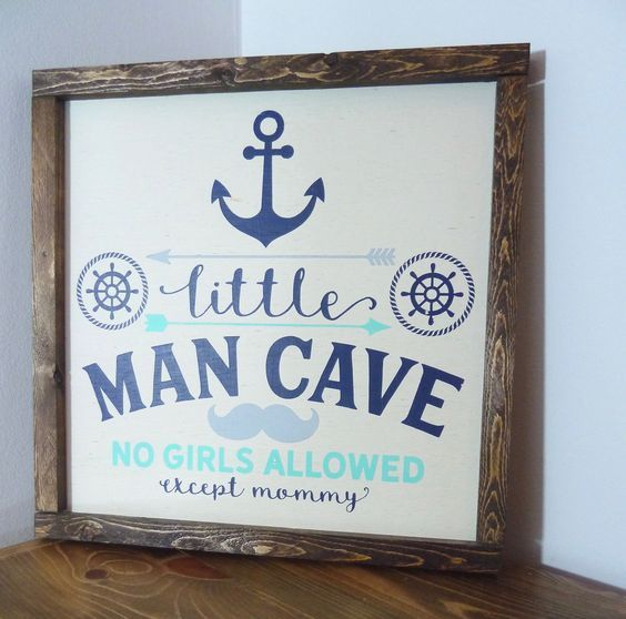 Nautical Nursery Decor Wall Boy