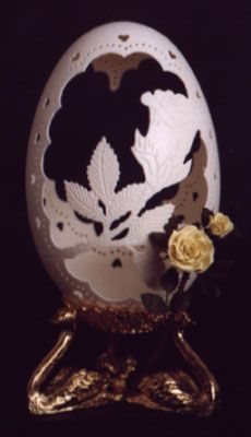 Carved Eggs