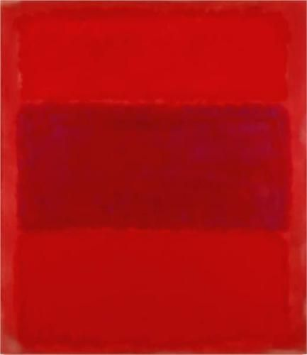 What is the mood of the painting? How was it created? Do you think there is symbolism in the piece? No.301 - Mark Rothko