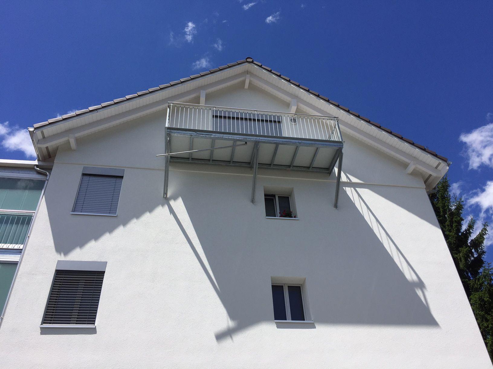 Balkonbodenplatte