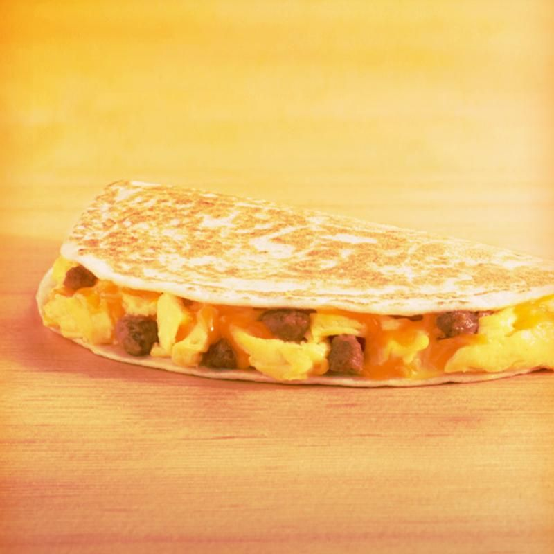 A.M. GRILLED TACO SAUSAGE Taco Bell Zmenu, The Most