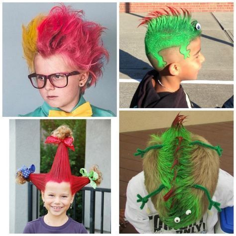 Crazy Hair Ideas #crazyhairday 30 CRAZY HAIR IDEAS FOR KIDS- these are awesome!! My kids love crazy hair day! #crazyhatdayideas Crazy Hair Ideas #crazyhairday 30 CRAZY HAIR IDEAS FOR KIDS- these are awesome!! My kids love crazy hair day! #crazyhairday