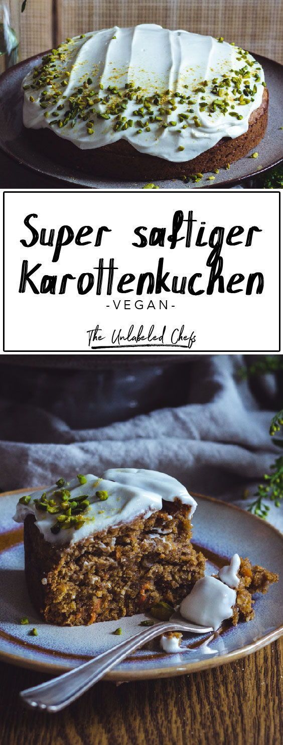 Karottenkuchen - The Unlabeled Chefs