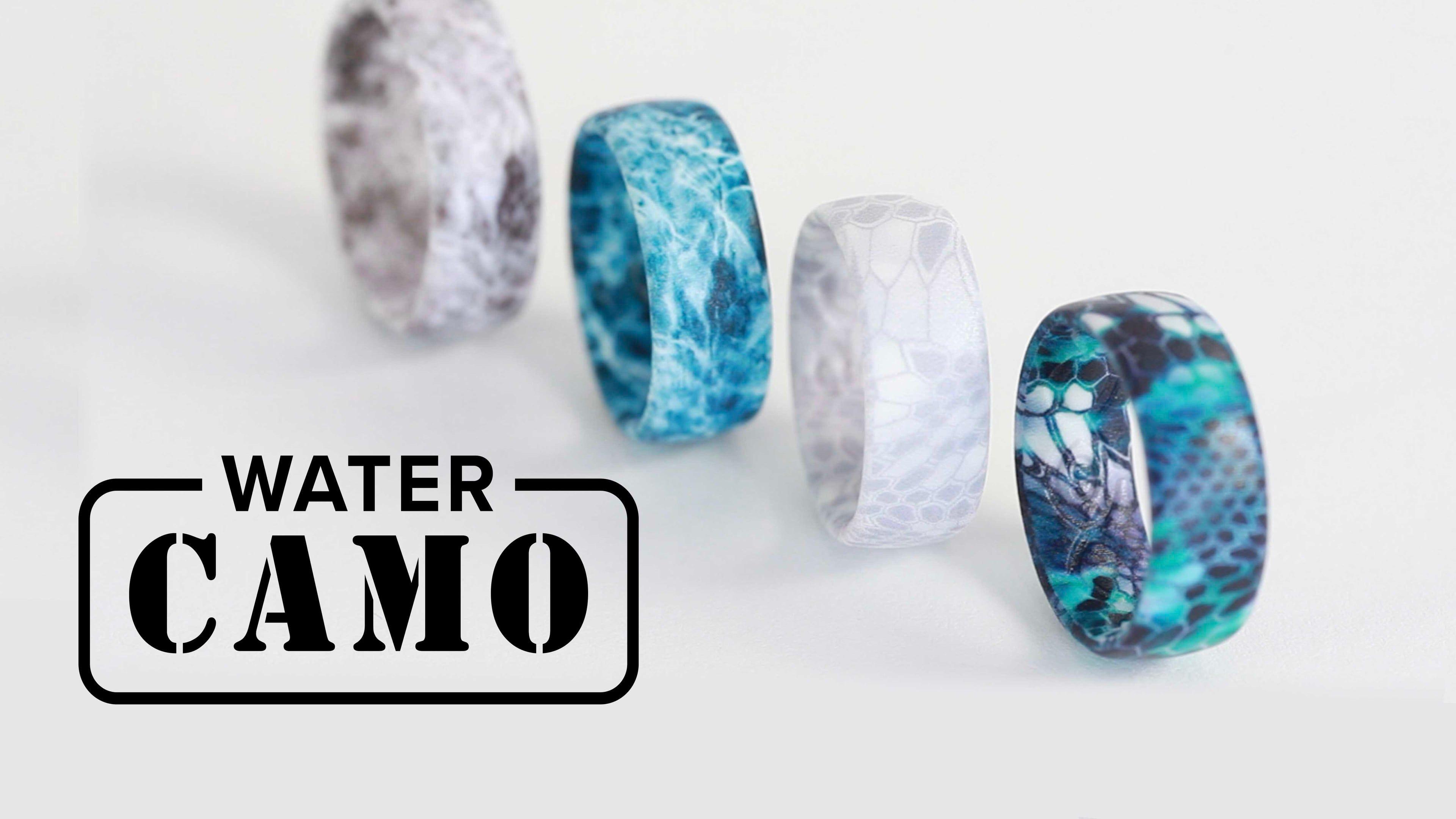 Kryptek Camo Silicone Rings Yeti Camouflage Silicone