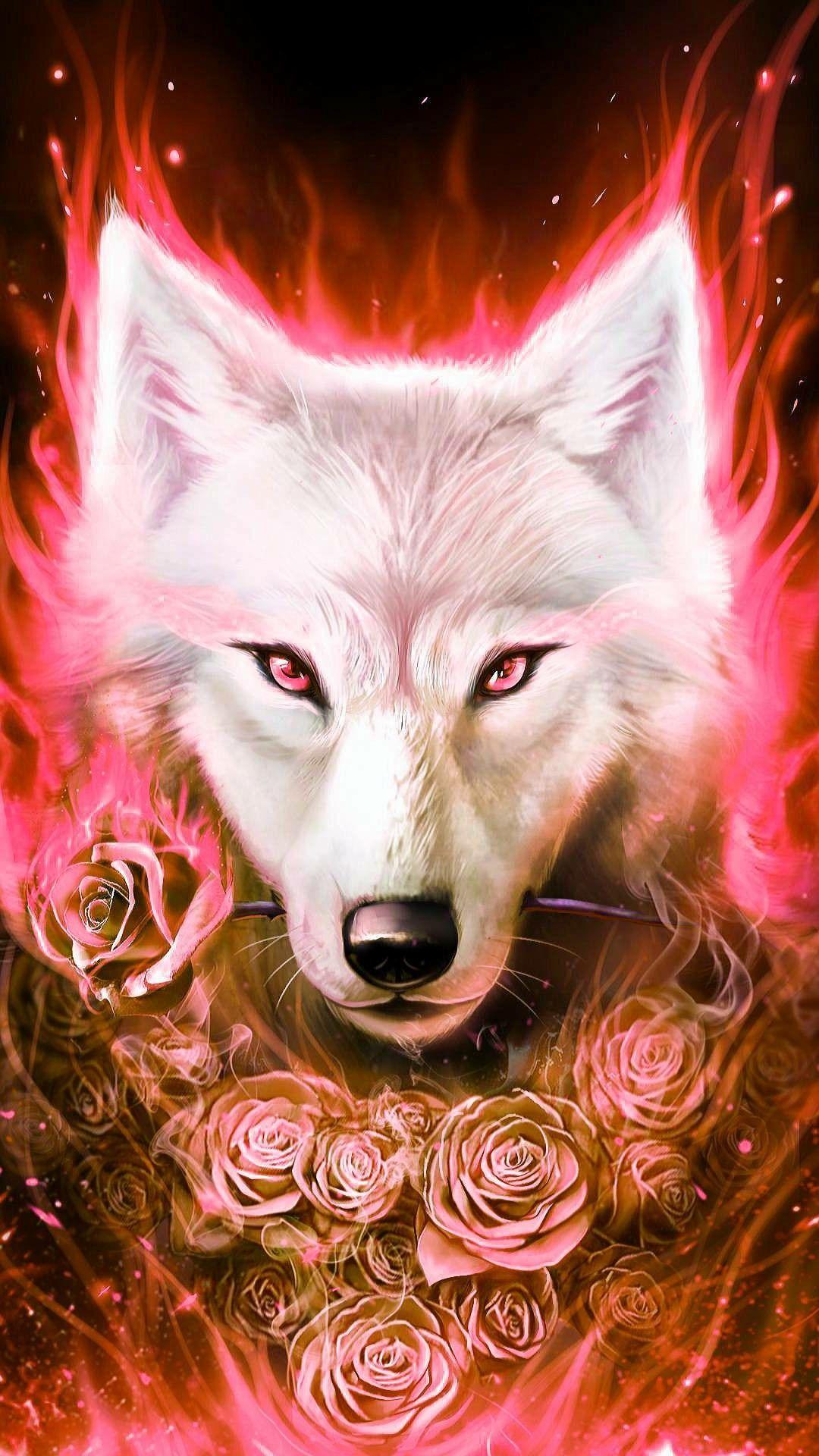 Pretty Wolf Wolf Spirit Animal Wolf Wallpaper Wolf Artwork