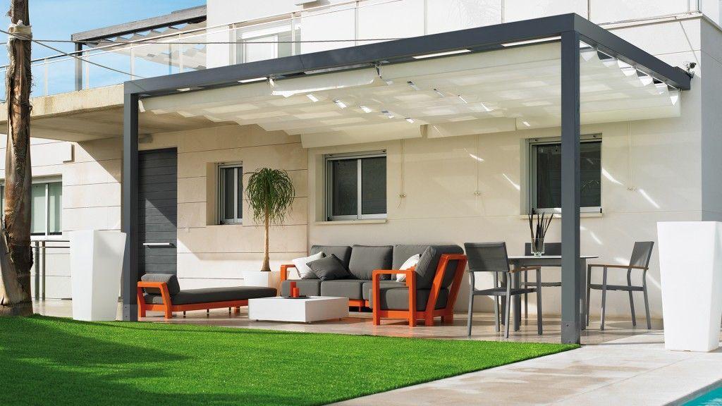 pergola-metalica-Greendesign | Terrazas | Pinterest | Pergolas ...