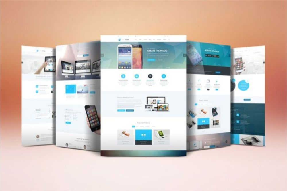 How To Create A Website Layout Block By Block Website Mockup Website Mockup Psd Display Mockup