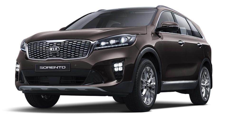 2018 Kia Sorento Gets A Classy Facelift In Korea Kia