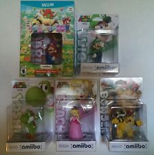 Mario Party 10 Mario Bundle Wii U 2015 Amiibo Luigi