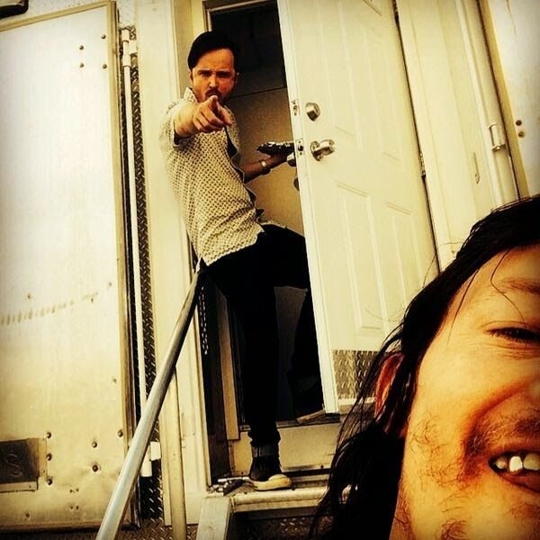 The Reedus: Aaron Paul And Norman Reedus Are Having An Epic Br...