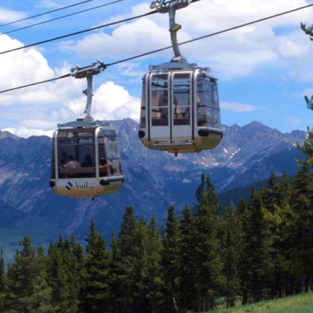 Denver Nn: Vail Gondola! Mountain Biking