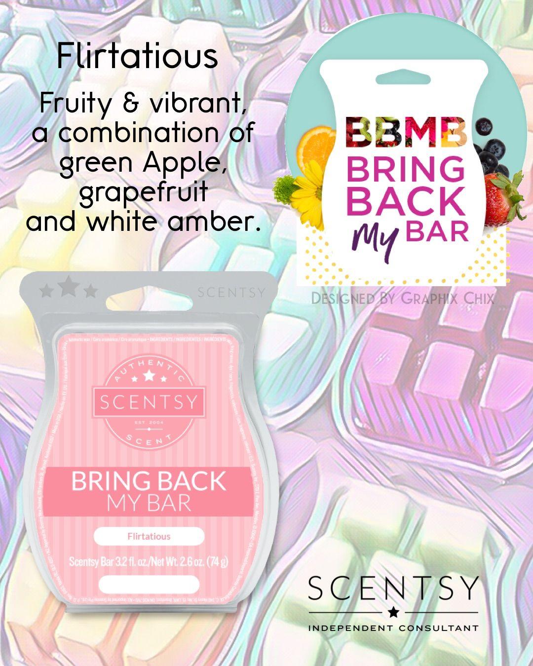 FLIRTATIOUS new Scentsy BBMB Bar