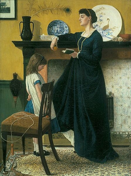 Thomas Armstrong The Lesson, 1865