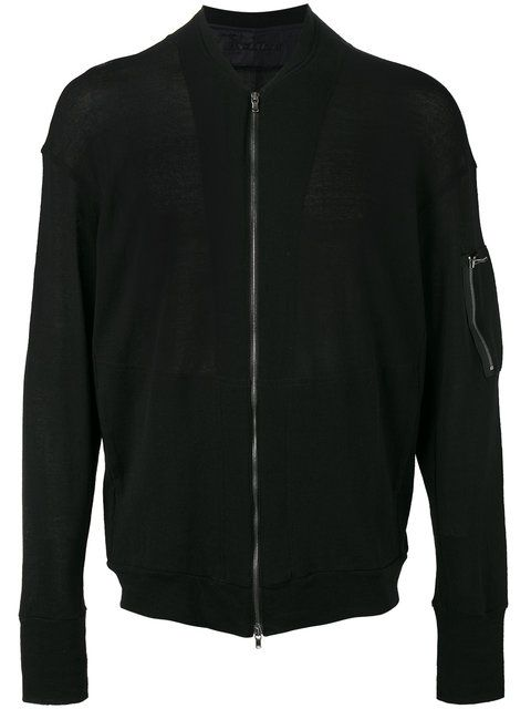 THE VIRIDI-ANNE knitted bomber jacket. #theviridi-anne #cloth #jacket