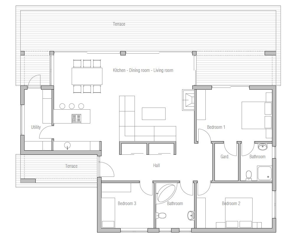 1000 images about Small House Plan on Pinterest Small modern
