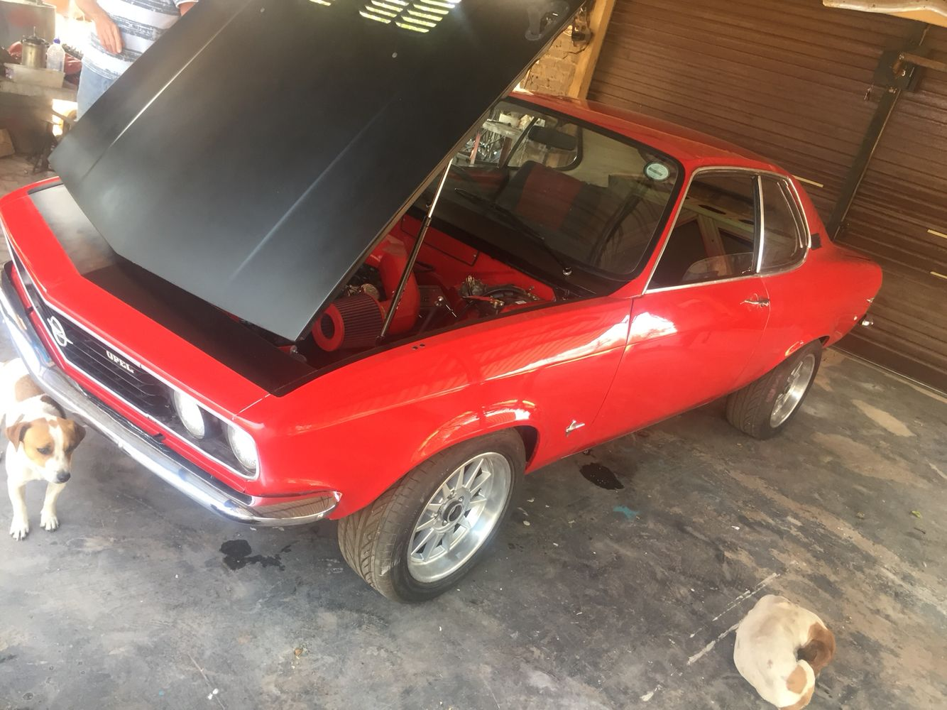 Image illustrative de l article opel ascona - My Dad S 1971 Opel Manta Packing American Muscle