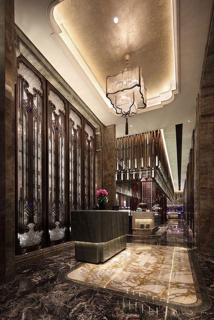 Db kim in 2019 lobby design hotel foyer lobby for Hotel foyer decor