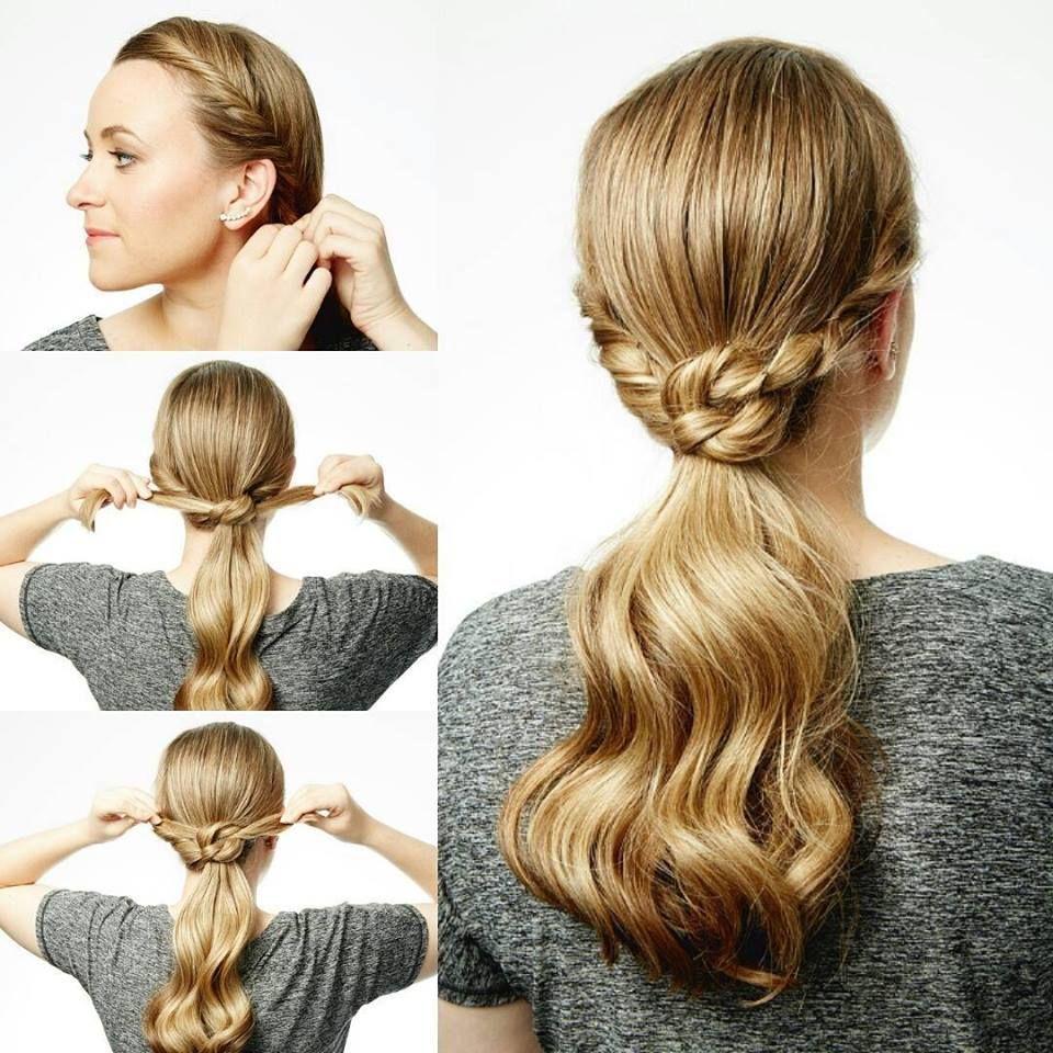 Easy step ponytail hairstyle stepbystephairstyletutorials step