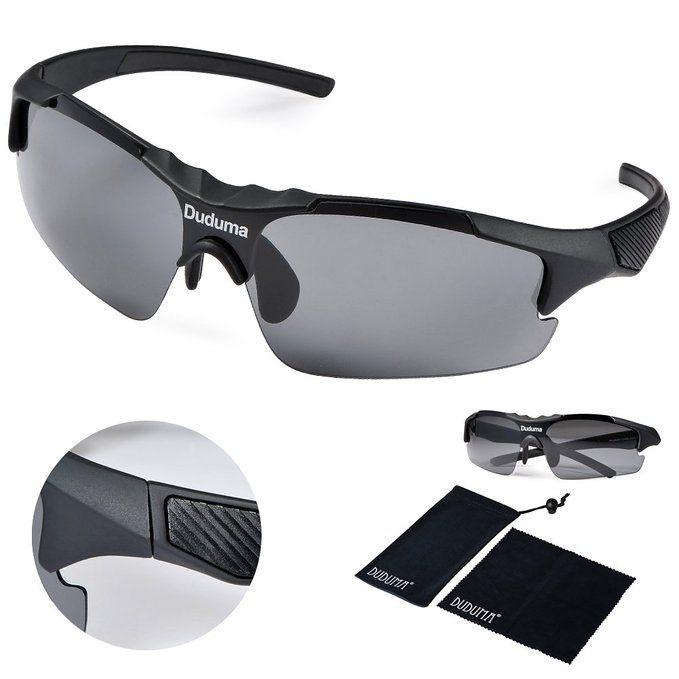 10e2a42821 Amazon.com  Duduma Polarized Casual Sports Sunglasses for Baseball Cycling  Fishing Golf Tr46 Unbreakable