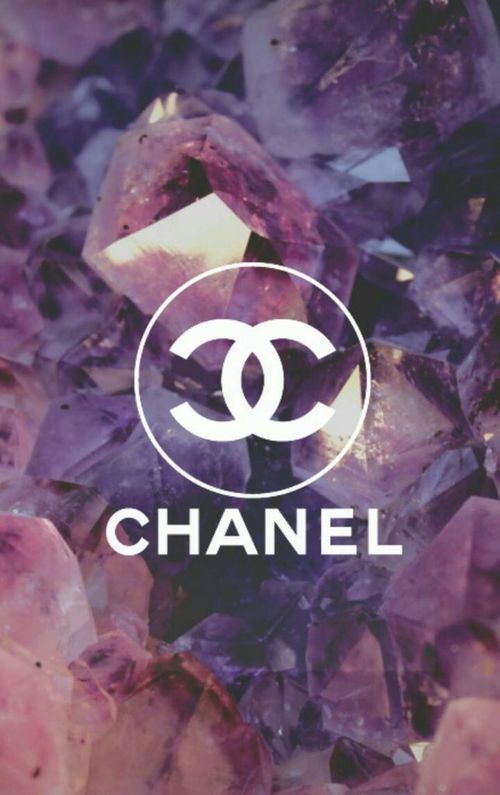 Image De Chanel Wallpaper And Purple Chanel Wallpapers Tumblr Iphone Wallpaper Chanel Logo