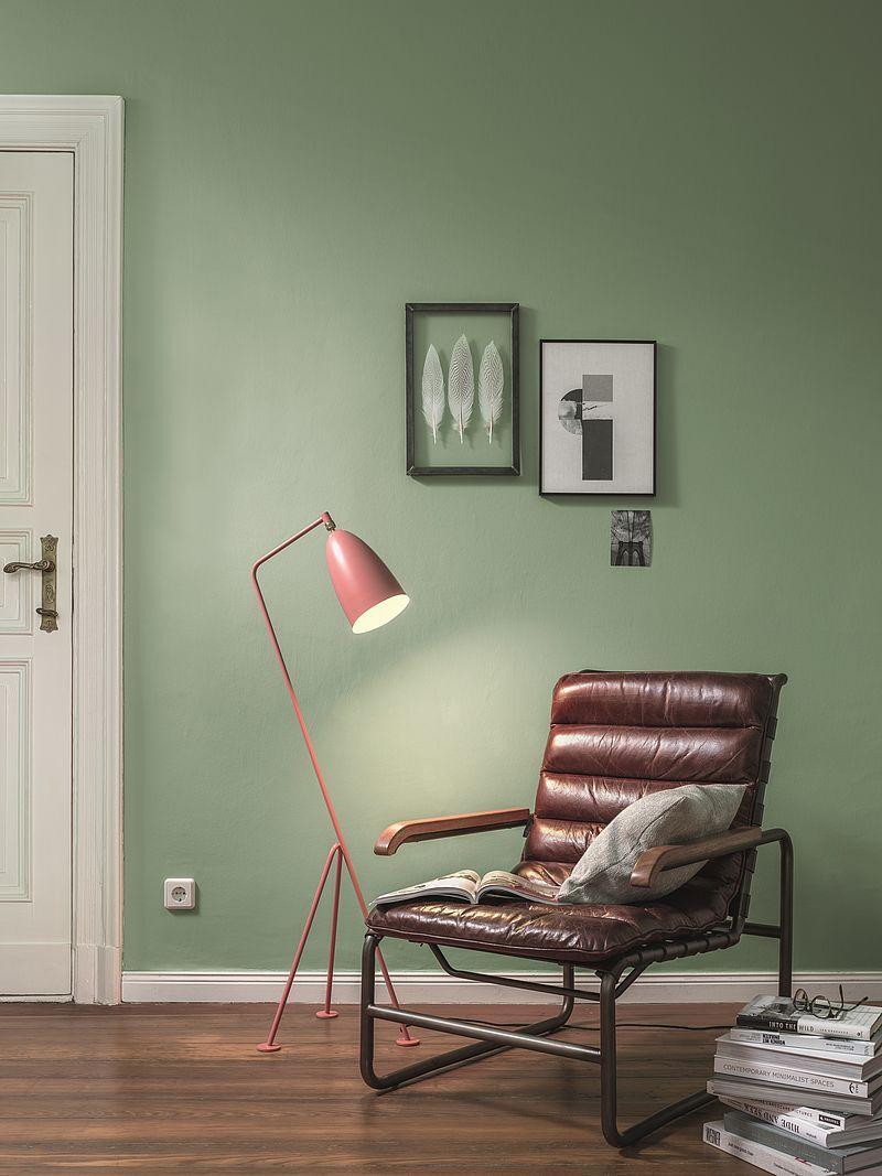 Wenn die Wandfarbe auf die Beleuchtung abgestimmt werden soll, ist ...