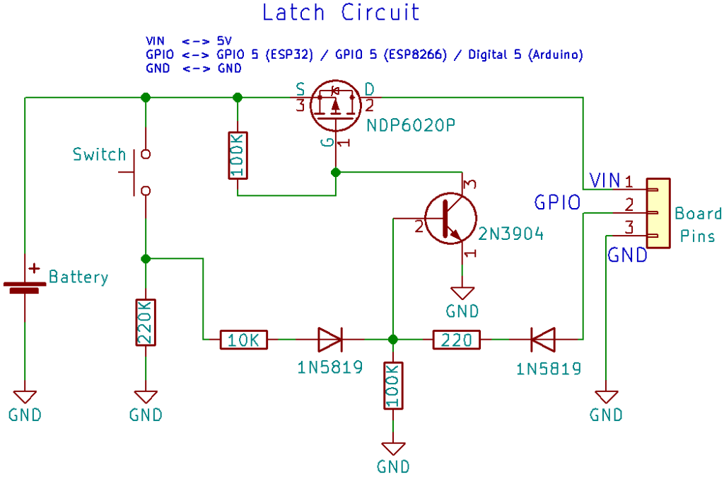 Auto Power Off Circuit for ESP32, ESP8266, and Arduino | Random Nerd