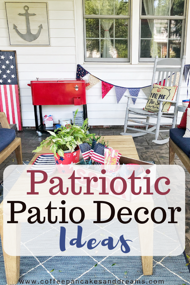 Fourth Of July Decor Inspiration Coffee Pancakes Dreams Fourth Of July Decor Decor Blogger Decor