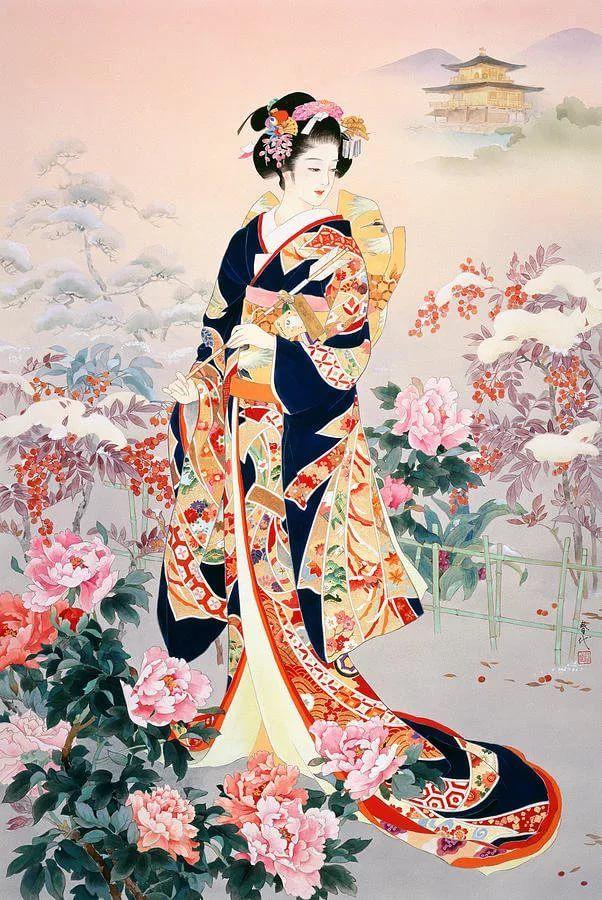 живопись японии картинки: 14 тыс изображений найдено в ...