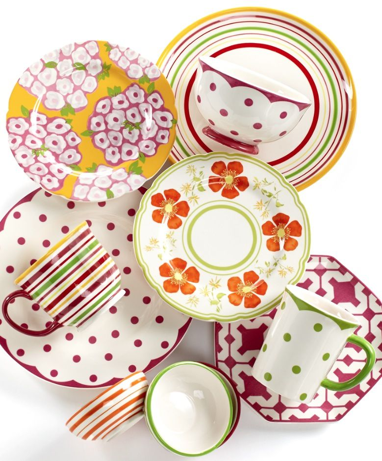 Martha Stewart Collection Poppy Mix u0026 Match Dinnerware Collection -- available at Macyu0027s!  sc 1 st  Pinterest & Martha Stewart Collection Poppy Mix u0026 Match Dinnerware Collection ...