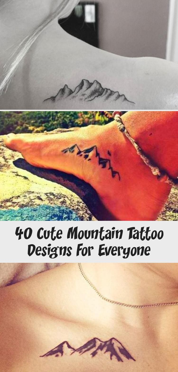 Photo of 40 Cute Mountain Tattoo Designs for Everyone – Hobby Lesson #travelingtattosForG…