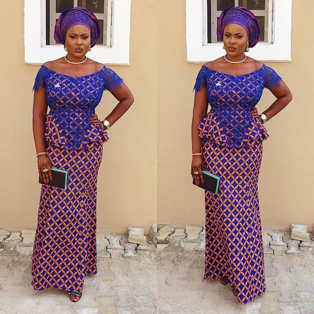 Top Ten Latest Ankara Skirt And Blouse Styles You Will To Have This