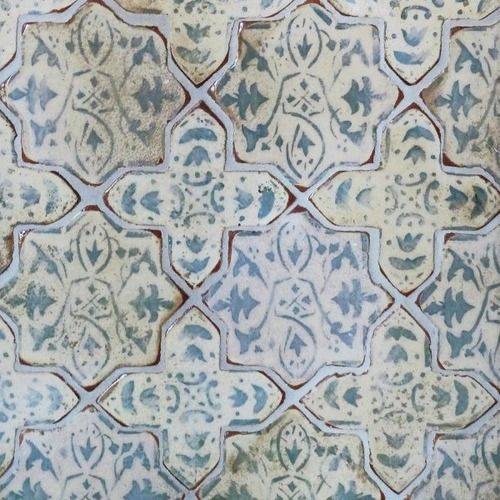 Ginmar Via Milk Honey Home Blue In 2019 Tabarka Tile