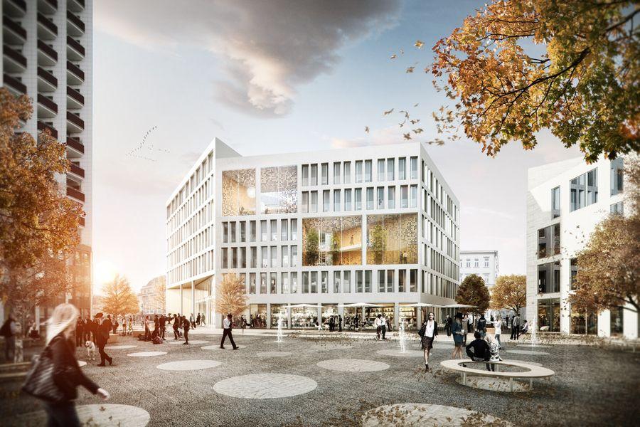 Blauraum projekte renderings pinterest architektur for Architektur design studium
