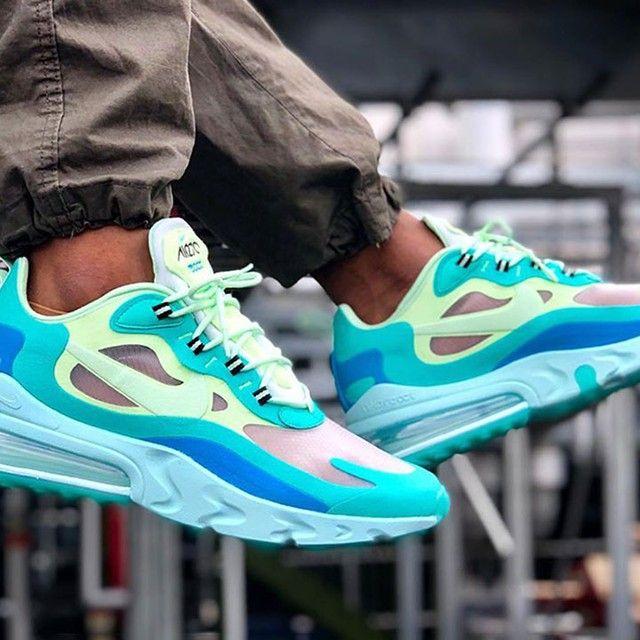 Men's Nike Air Max 270 React 'Hyper Jade' | AO4971 301 | Renarts